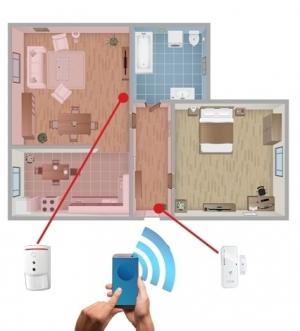 Zabezpečení bytu - cena a typová instalace